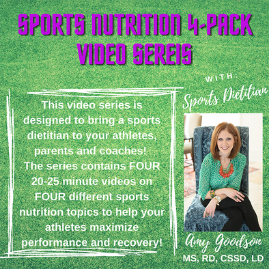 Sports Nutrition Video Series (4-pack)
