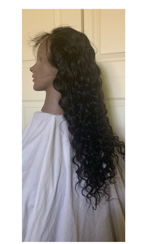 Deluxe Water Wave(13x6) Lace Frontal Wig