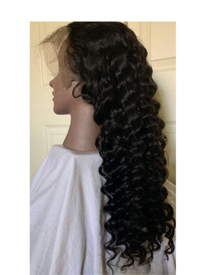 Deluxe Loose Deep Wave (13x6) Lace Frontal Wig