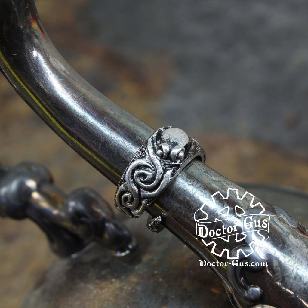 Octopus Band Ring