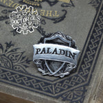 Paladin Badge - RPG Character Class Pin