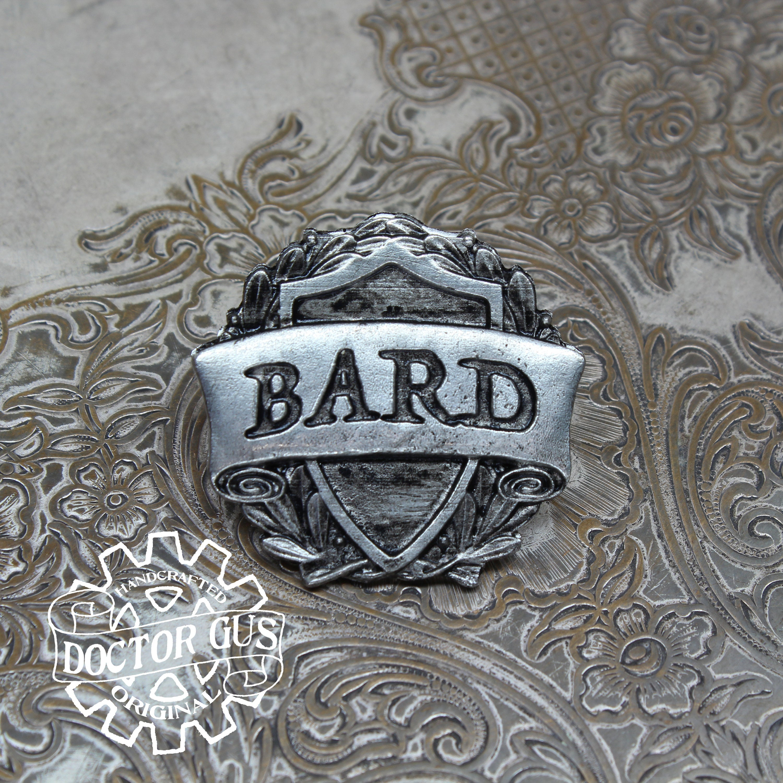 Bard Badge - RPG Character Class Pin