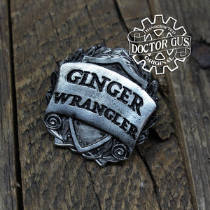 Ginger Wrangler Badge