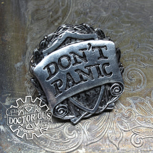 Don't Panic Badge
