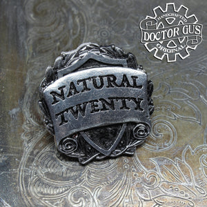 Natural Twenty Badge