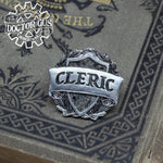 Cleric Badge - RPG Character Class Pin