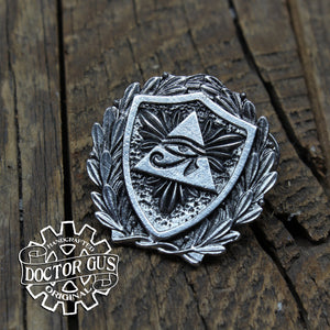 Eye of Ra Heraldic Badge