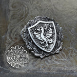 Dragon Heraldic Badge
