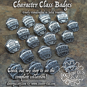 Dungeon Master Badge - Gaming DM Pin