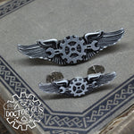 Steampunk Airship Engineer Wings - Mini Size