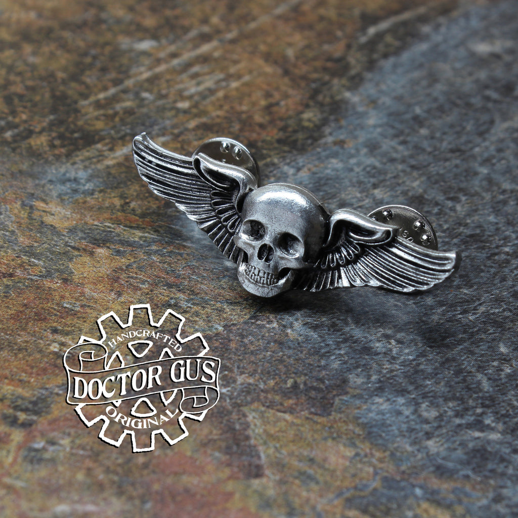 Skull Pilot Wings - Mini Size