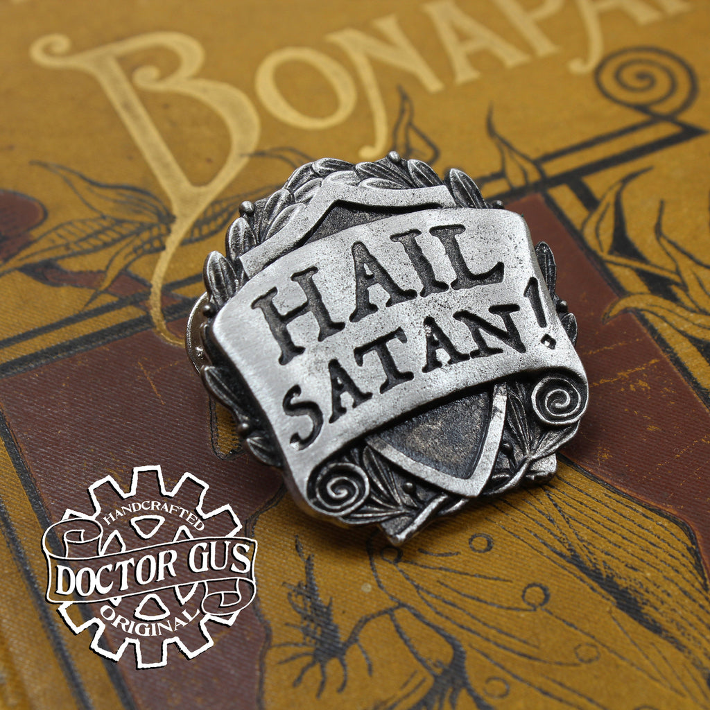Hail Satan Badge
