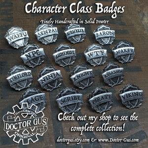 Rogue Badge - RPG Character Class Pin
