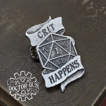 Crit Happens Badge