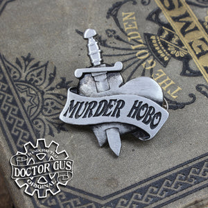 Murder Hobo Badge
