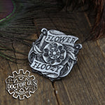 Flower Floozy Badge