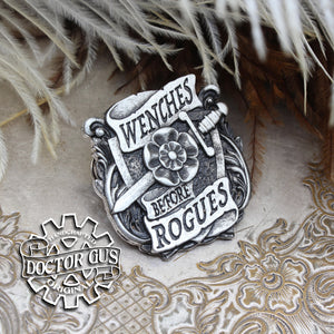 Wenches Before Rogues Badge