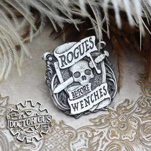 Rogues Before Wenches Badge
