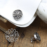 Cthulhu Cuff Links - Tentacle Cephalopod Accessories by Doctor Gus - Suit and Tie - Men's Gifts - Octopus Lovecraft Steampunk Wedding Groom
