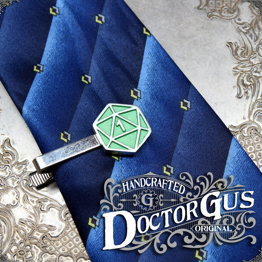 Critical Fail Tie Clip - Green