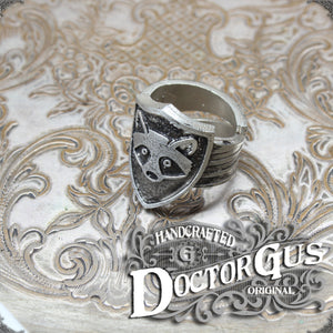 Raccoon Shield Ring