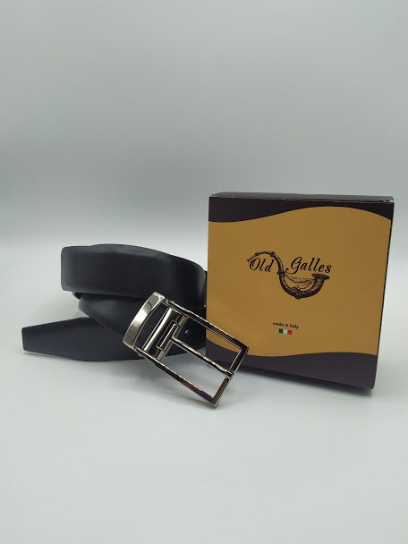 Smooth Full Grain Leather Belt