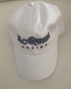 McQueen-Racing White Dad Hat