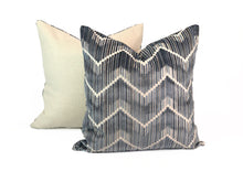 "Load image into Gallery viewer, Kravet ""Highs and Lows"" Blue- PAIR"
