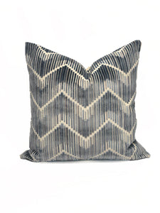 "Kravet ""Highs and Lows"" Blue- PAIR"
