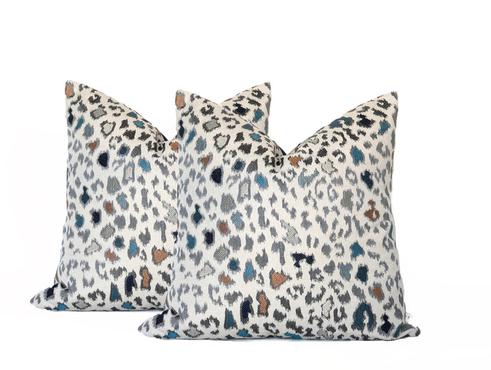 Mulberry Animal Magic Teal- PAIR