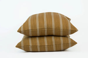 Kravet Couture Saddle Stripe Ochre- PAIR