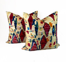 Load image into Gallery viewer, Bohemain Multicolor Printed Velvet- PAIR