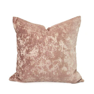 Blush Crushed Chenille-PAIR
