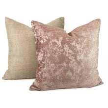 Load image into Gallery viewer, Blush Crushed Chenille-PAIR