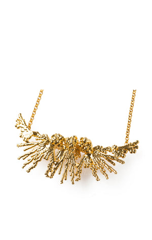 Pendant Acropora Gold Plated 24k