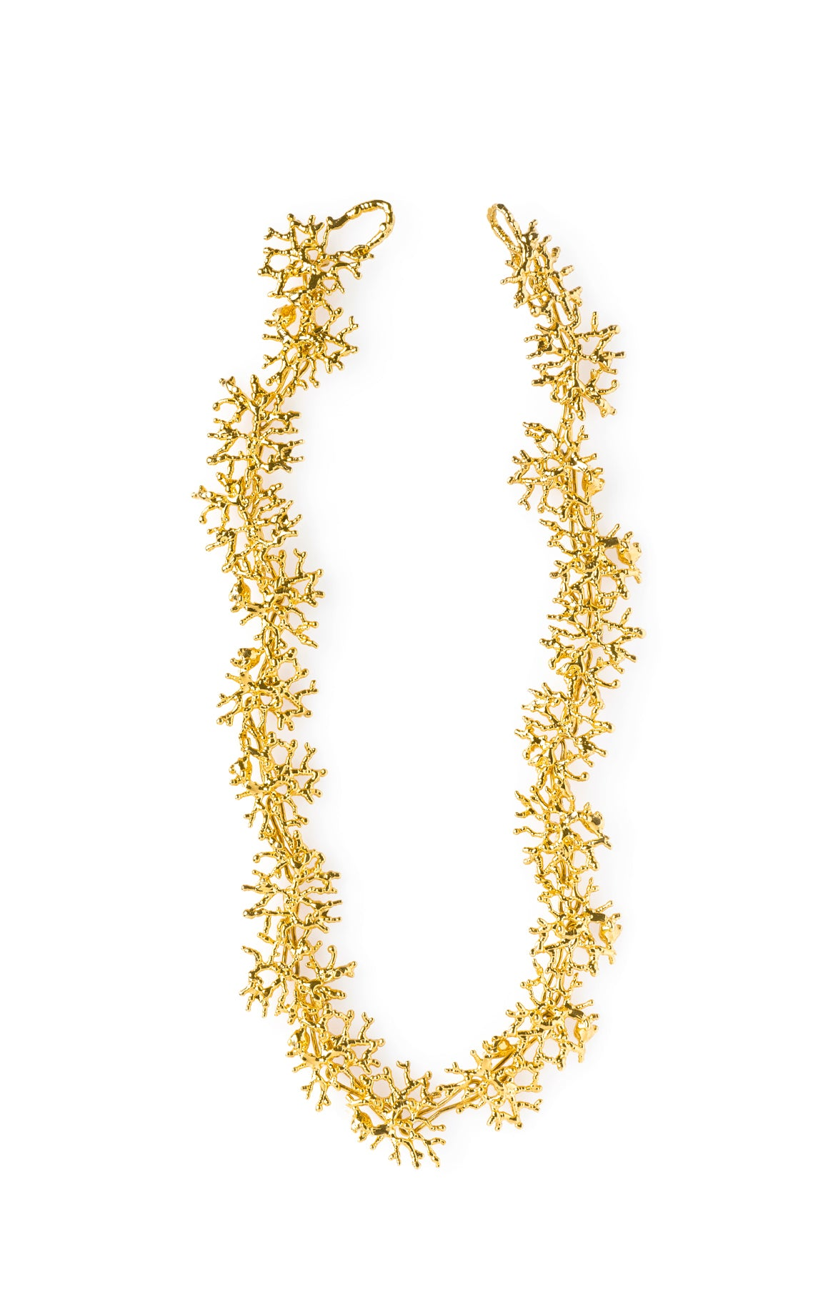 Millepora Necklace Gold Plated 24k