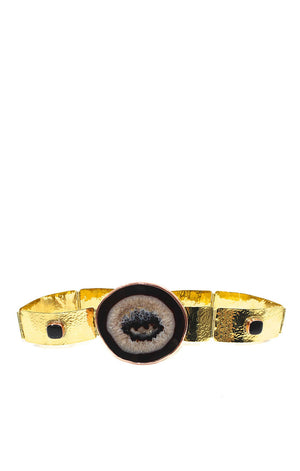 Elena Black Agate Belt