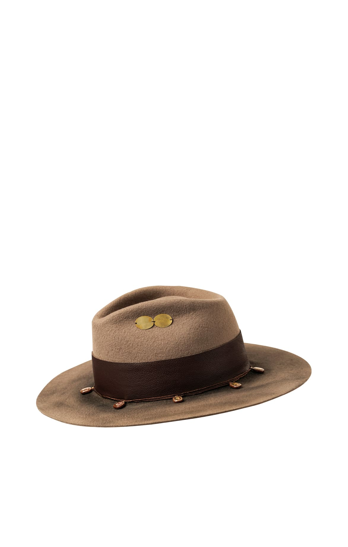 Felt and Chaquira Fedora Hat