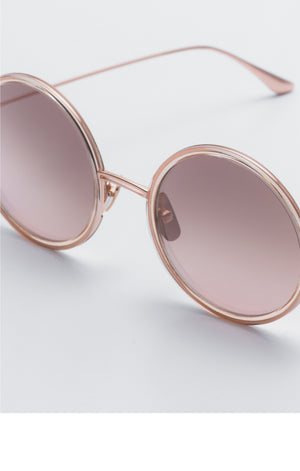 Lee Rose Gold Sunglasses