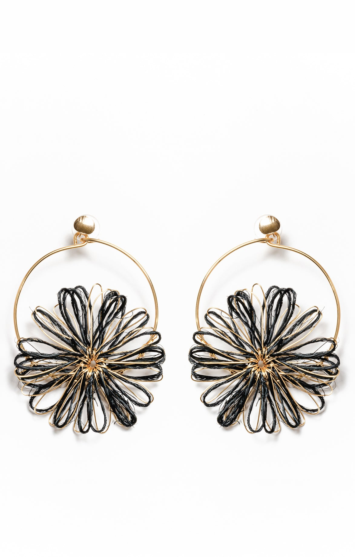 Akacia Earrings Black