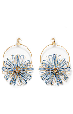 Akacia Earrings Blue