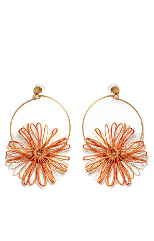 Akacia Earrings Orange