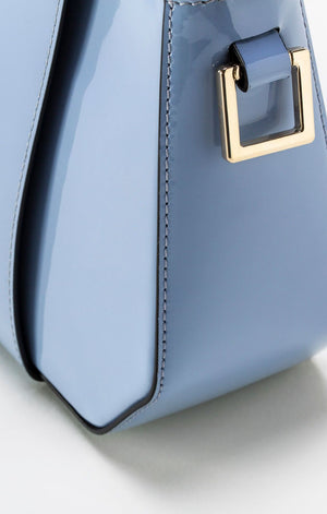 Era  Mini Lacquer Blue Tote