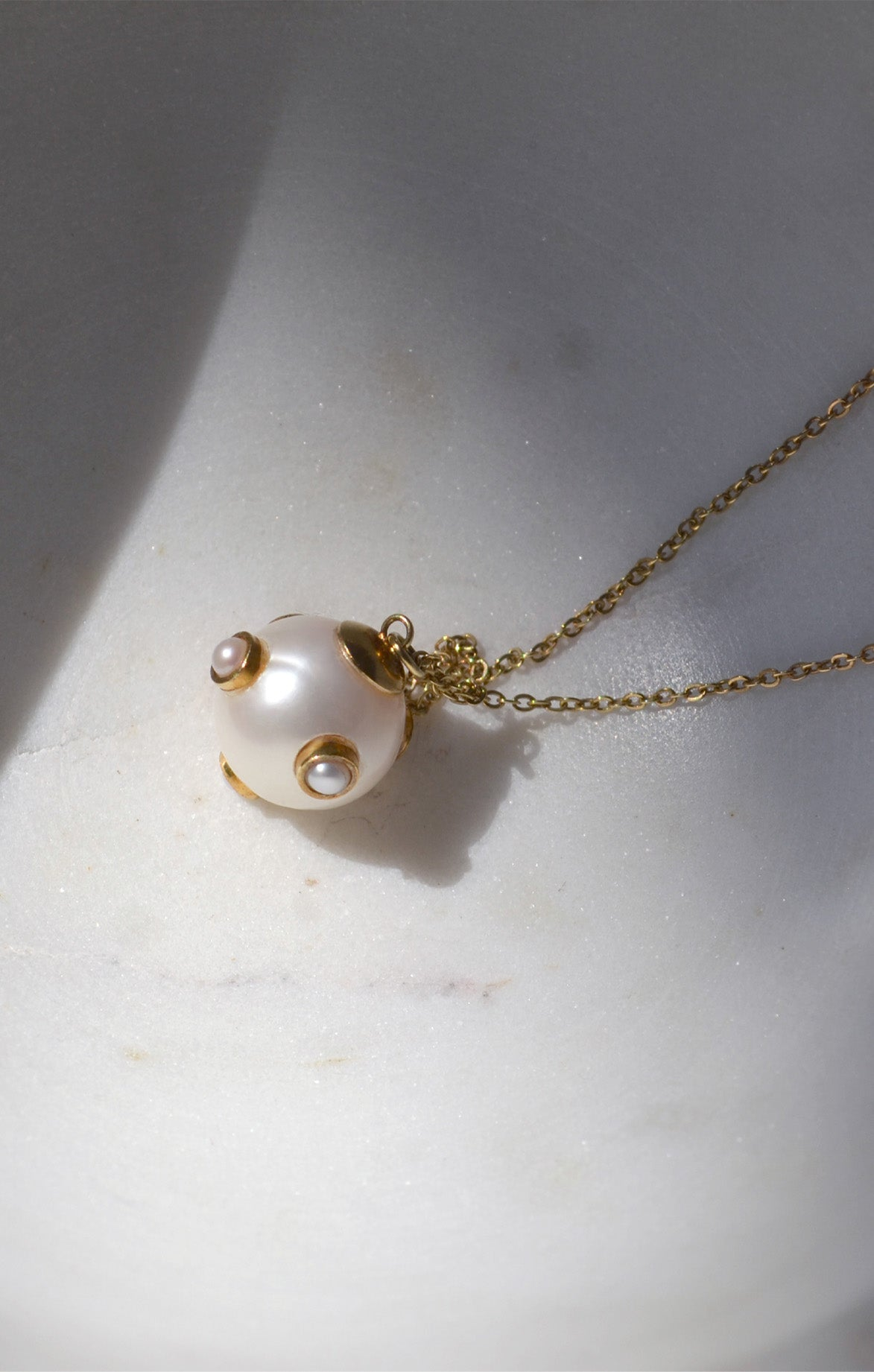 Pearl 5 Pearls Necklace