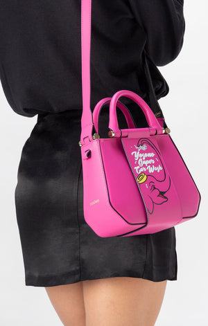Era Micro Pink Leather Handbag
