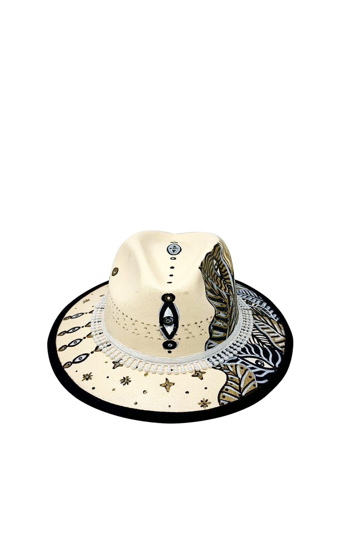 Golden Dream Fedora Hat