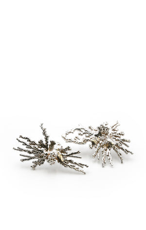 Acropora Silver Earrings