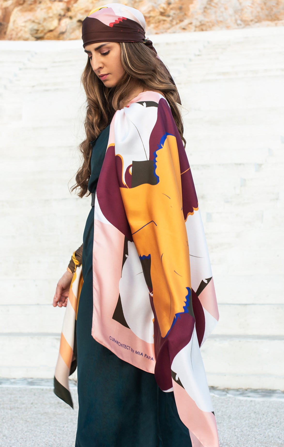 Isabelle Square Silk Scarf