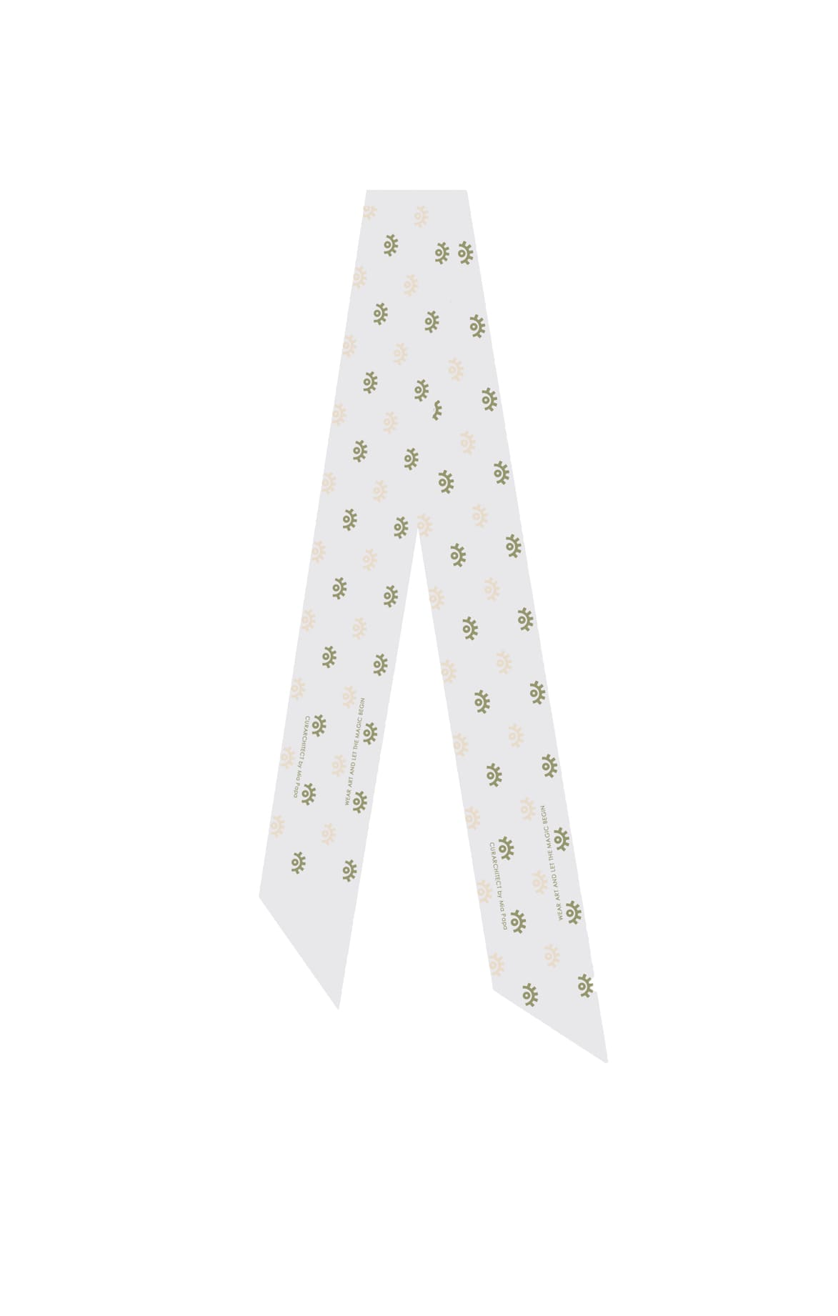 Athens Ribbon Silk Scarf