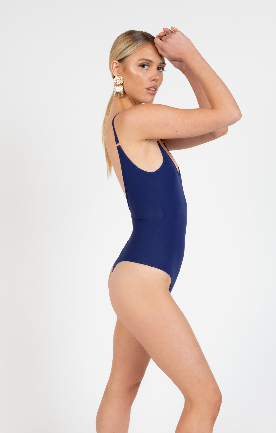 Sorrento Bodysuit in Indigo